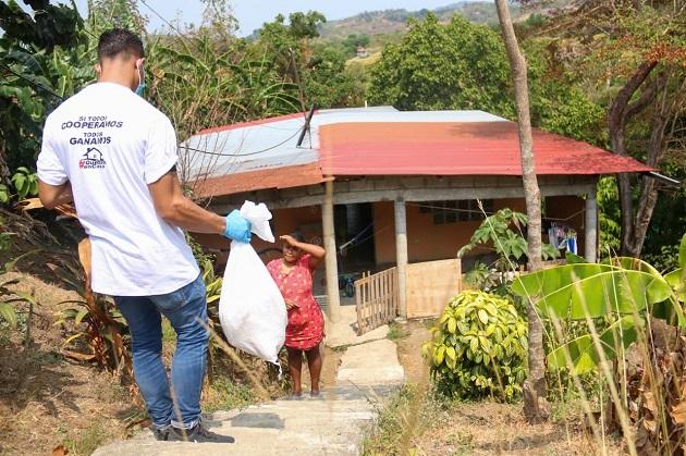 Un total de 6,580 funcionarios y voluntarios ejecutan programa Panamá Solidario