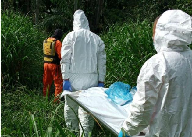 Encuentran cadáver en medio de un potrero, cerca al río Mula en el distrito de Bugaba