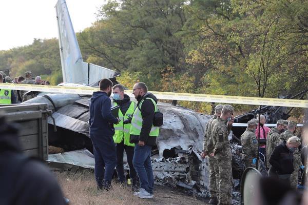 Un avión militar ucraniano se estrella durante un vuelo de entrenamiento y deja 26 muertos