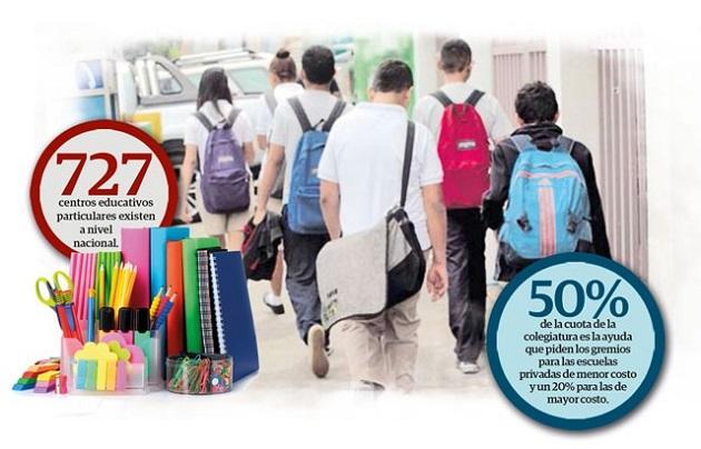 Escuelas privadas pierden más de 2 mil estudiantes