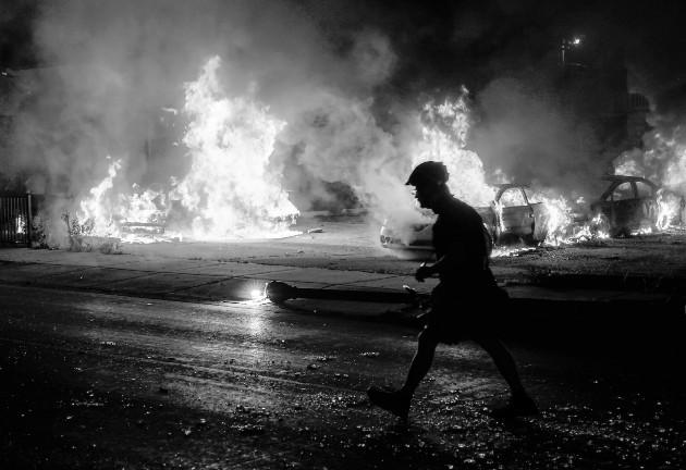 Tiroteos, atropellos e incendios