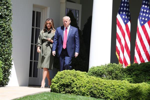 La primera dama Melania Trump dice que tiene