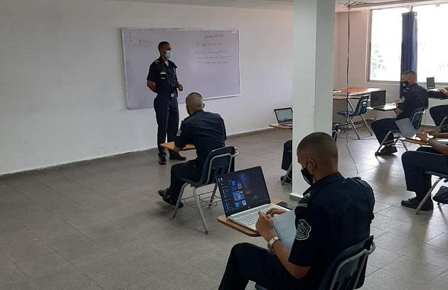 La Esopol es el  único centro de formación policial en la región que gradúa a sus estudiantes con una licenciatura. Foto cortesía Policía Nacional