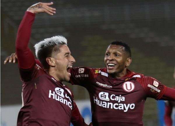 Universitario, donde juega 'Negrito' Quintero,   campeón del Apertura  en Perú