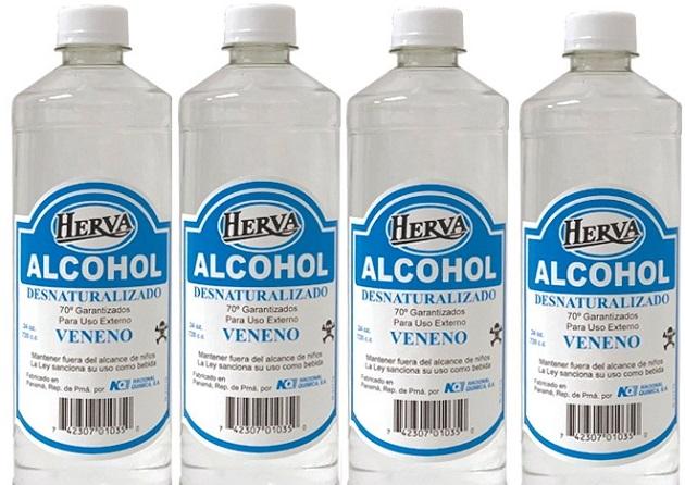 Minsa ordena retiro del mercado y suspensión del uso de Herva Alcohol