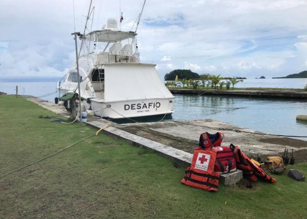 Sigue la búsqueda de tripulantes de la nave Los Albertos en Colón; avión de Estados Unidos dará apoyo