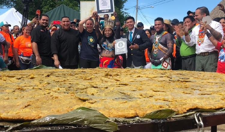 Un logro para Panamá: Patacón Gigante en el libro Guinness World Records 2021