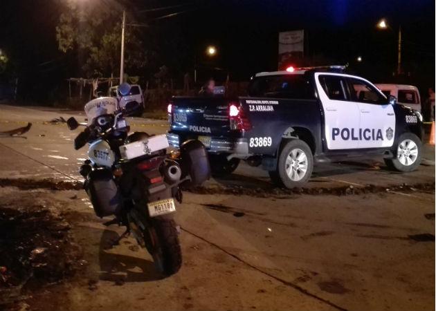 Ciclista fallece tras ser arrollado en la vía principal hacia el poblado de La Colorada en La Chorrera