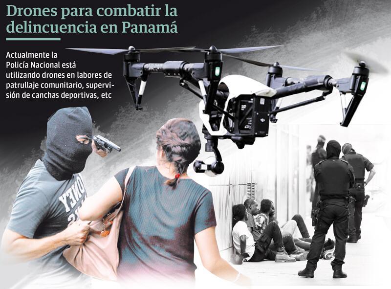Drones: Herramienta con la que la Policía Nacional busca bajar la delincuencia