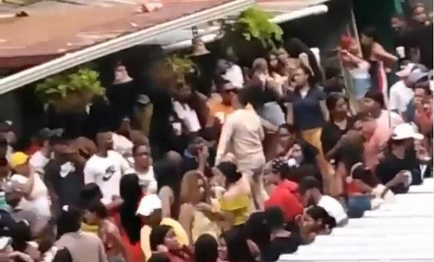 [VIDEO] Parrandas en el sector de El Chorrillo se toman las calles