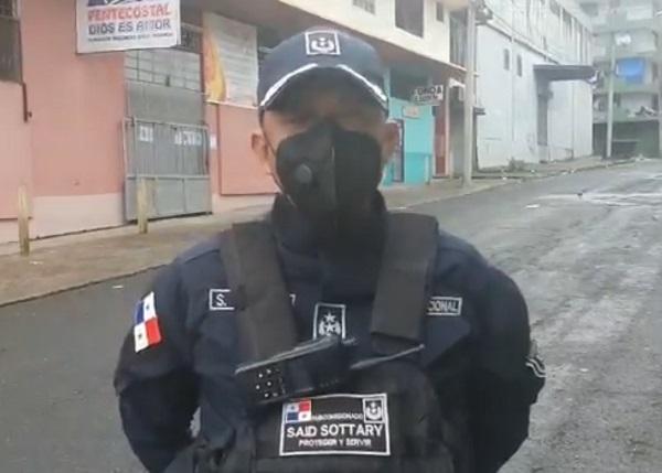 [VIDEO] Un total de 15 personas fueron aprehendidas durante un operativo de madrugada en Calle 25, El Chorrillo