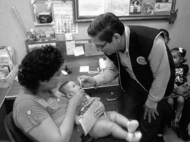 Rotary y su lucha contra poliomielitis
