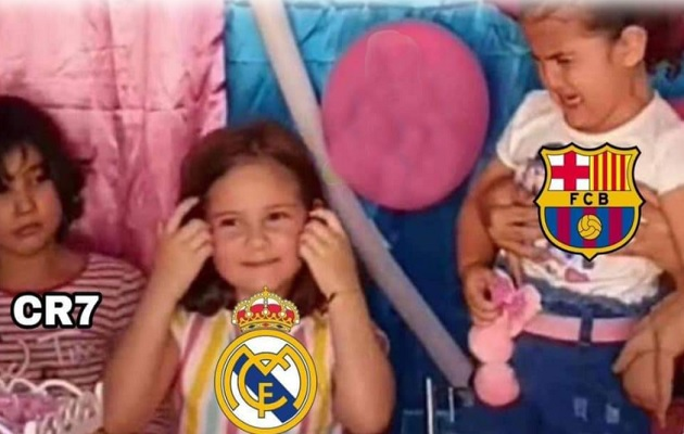 Los memes se burlaron del Barcelona.