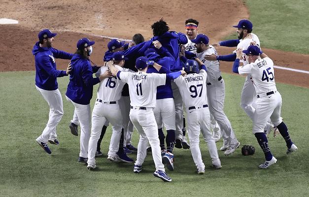 Los Dodgers ganan la Serie Mundial  en las Grandes Ligas
