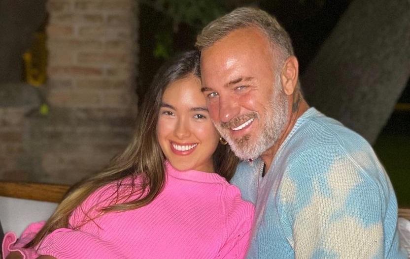 Gianluca Vacchi le da la bienvenida a su hija Blu Jerusalema Vacchi