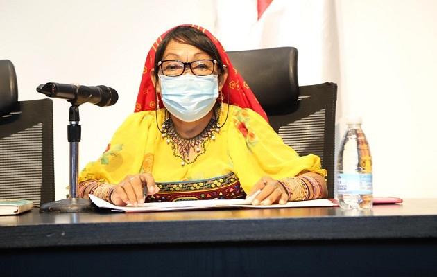 Petita Ayarza recomienda estudiar la medicina tradicional guna para apoyar lucha contra la COVID-19