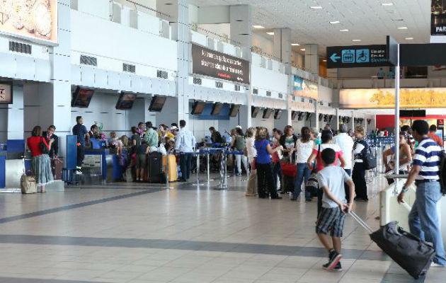 Aeropuerto Internacional de Tocumen prevé incremento de 41% durante fiestas patrias