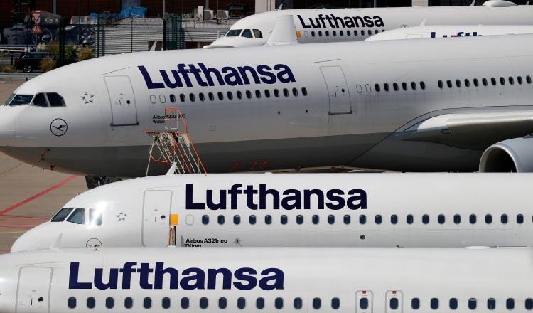 Lufthansa pierde 6,581 millones de dólares  hasta septiembre