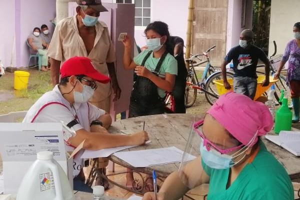 Minsa sigue aplicando pruebas de la COVID-19 entre los afectados en Chiriquí