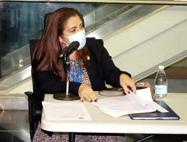 Diputada Corina Cano da positivo a la prueba de COVID-19