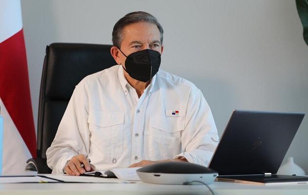 Laurentino Cortizo pide usar los $100 millones para la zona del desastre de forma ágil y transparente
