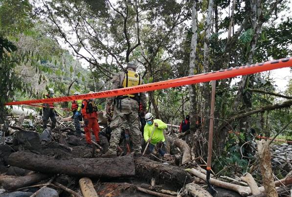 Sube a 20 el número de personas muertas  debido a  las inundaciones y deslizamientos provocados por huracán Eta en Panamá