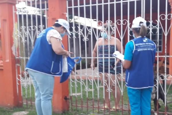 Minsa refuerza trazabilidad y monitoreo de la COVID-19 en corregimientos de la provincia de Panamá