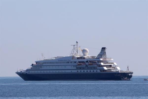 Siete personas están contagiadas de COVID-19 en un crucero que recorría el Caribe