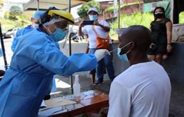 Panamá registra 5,971 nuevos  casos de COVID-19 y 75 muertes por esta enfermedad en los últimos seis días