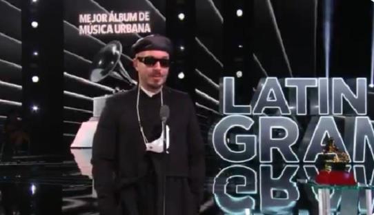 J Balvin ganó el premio de Mejor Álbum de Música Urbana por