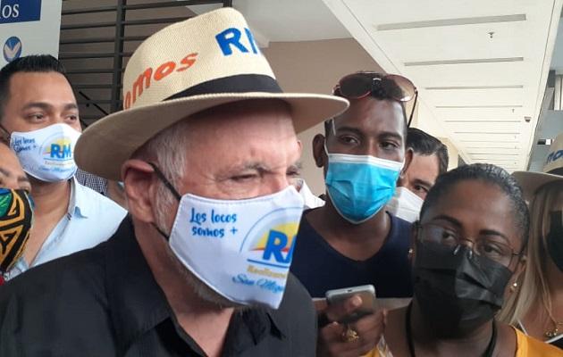 Anulan 'no culpabilidad' de Ricardo Martinelli un día después de que oficializan el partido Realizando Metas