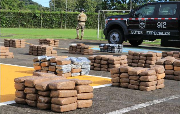Senan y guardacostas de Estados Unidos incautan marihuana y cocaína en Punta Burica