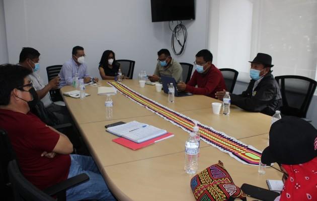 Congreso General Guna y el Minsa coordinan protocolos de bioseguridad contra la COVID-19, aplicarán prueba Sofia SARS