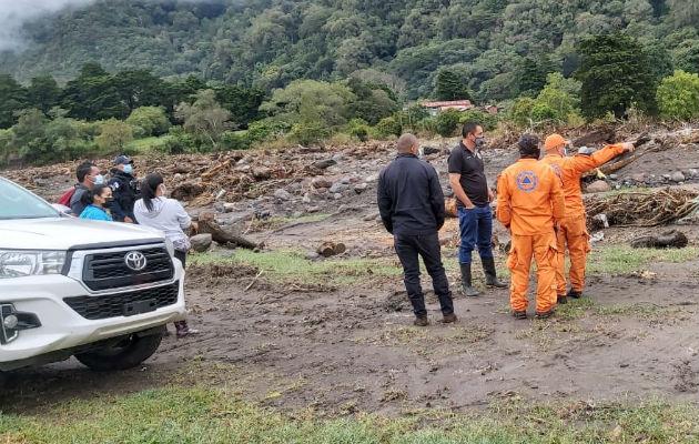 Tizingal, Finca Morgan, Volcán,  Bambito y Finca Los Carter son áreas donde se buscan cuerpos. Foto: Mayra Madrid.