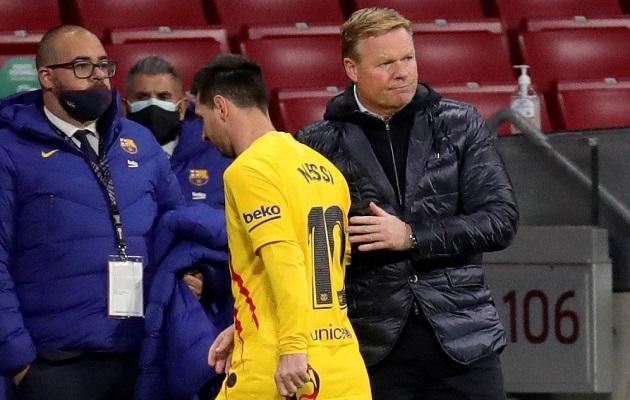 Koeman tras derrota del Barcelona ante el Atlético: 'No estoy preocupado por el campeonato'