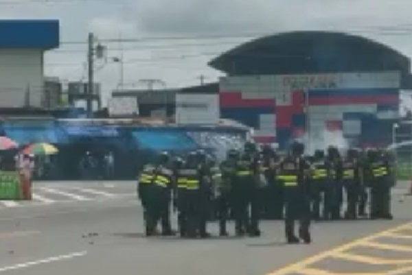 Ticos llevan a juicio a los protagonistas de manifestaciones en Paso Canoas