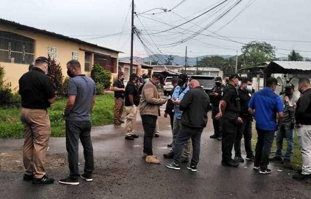 La Policía Nacional realiza fuertes operativos.