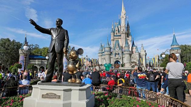 Disney reportó unas pérdidas de cerca de 600 millones de dólares en su cuarto trimestre fiscal. EFE