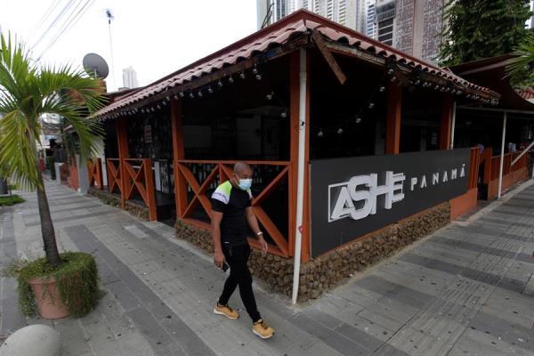 Restaurante cerrado en la calle Uruguay