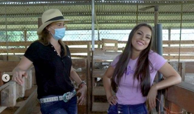 Dania María Vergara y Doralis Mela. Foto: Instagram