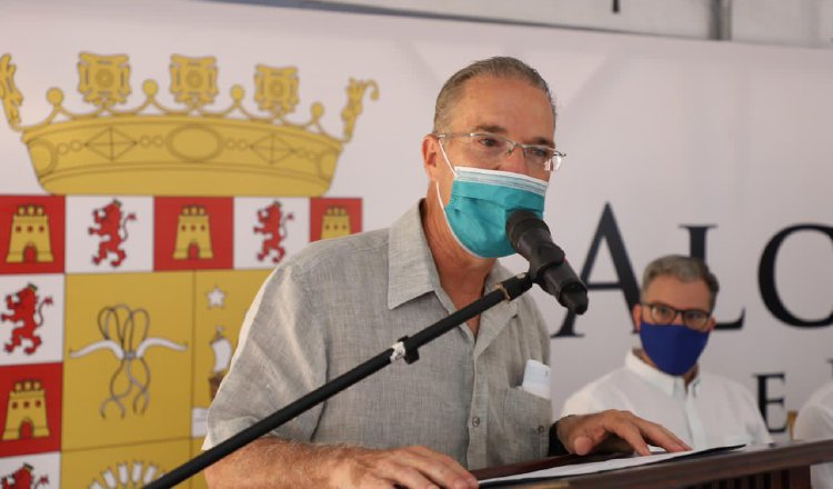 El alcalde Fábrega fue categórico al afirmar que su periodo termina el 30 de junio de 2024. Cortesía