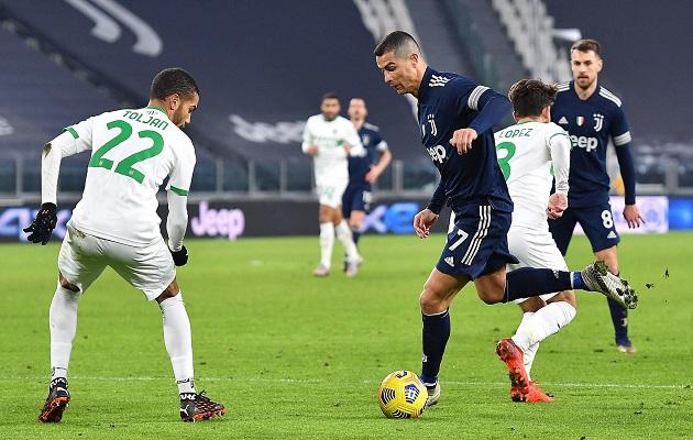 Juventus es cuarta en la Serie A.
