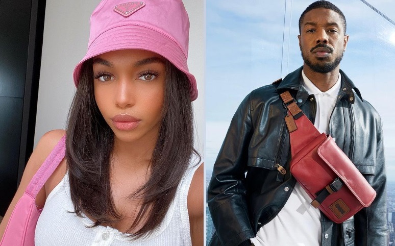 Lori Harvey y Michael B. Jordan. Instagram