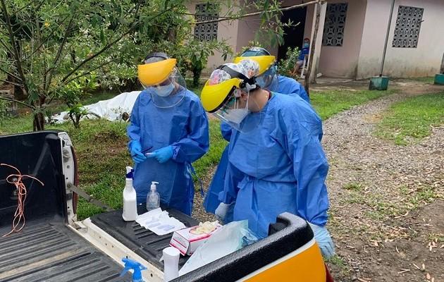Chiriquí tiene 4 mil 794 casos activos de coronavirus.