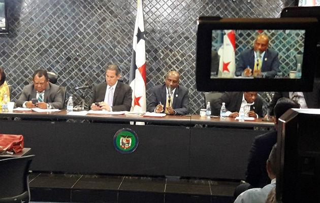Comisión de Economía y Finanzas de la Asamblea Nacional. Foto/Cortesía