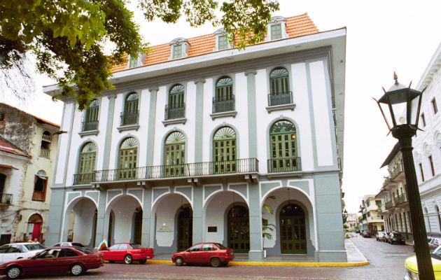 Museo del Canal Interoceánico de Panamá, en Plaza de la Independencia (Plaza Catedral), en el Casco Antiguo. Foto: Archivo.