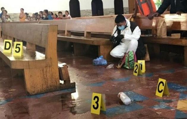Atacan con ácido sulfúrico a sacerdote de Catedral de Managua