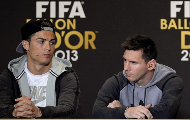 Messi y Cristiano verán juntos la final River-Boca en el Bernabéu