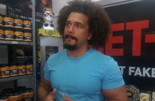 Carlitos 'Caribbean Cool' espera ganar títulos en Panamá, como lo hizo en la WWE. Jaime A. Chávez R.