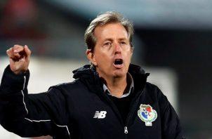 Gary Stempel, técnico interino del seleccionado panameño. EFE